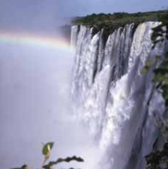 Victoria Falls in Zambia, where Bal and her family moved in 1971.