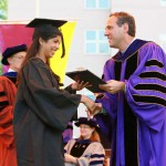 Niralee at Commencement—11:30 a.m.