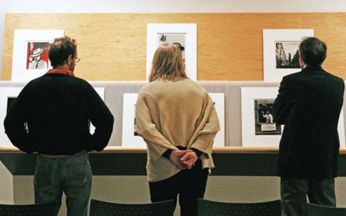 The College museum hosts a gallery talk about art works that evoke author Ralph Ellison's Harlem in the 1950s.