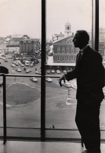 Boston's Kevin White (shown in his City Hall office in 1969) became a giant among American mayors.