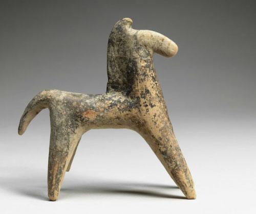 Terra cotta horse