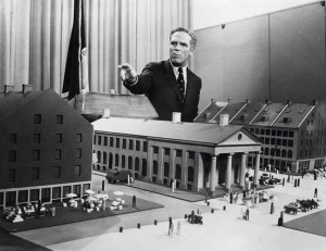 May 6, 1970. White unveils plans for Faneuil Hall Marketplace, his signature development, which opens to fanfare in August 1976.