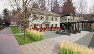 Kellogg House, artist's rendering