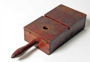 Fraternity Ballot Box, Delta Kappa Epsilon, 1864