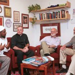 From left: Chaplains Bilal Ansari, Gary Caster, Rick Spalding and Bob Scherr.