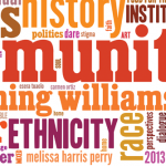 Claiming Williams Day word cloud