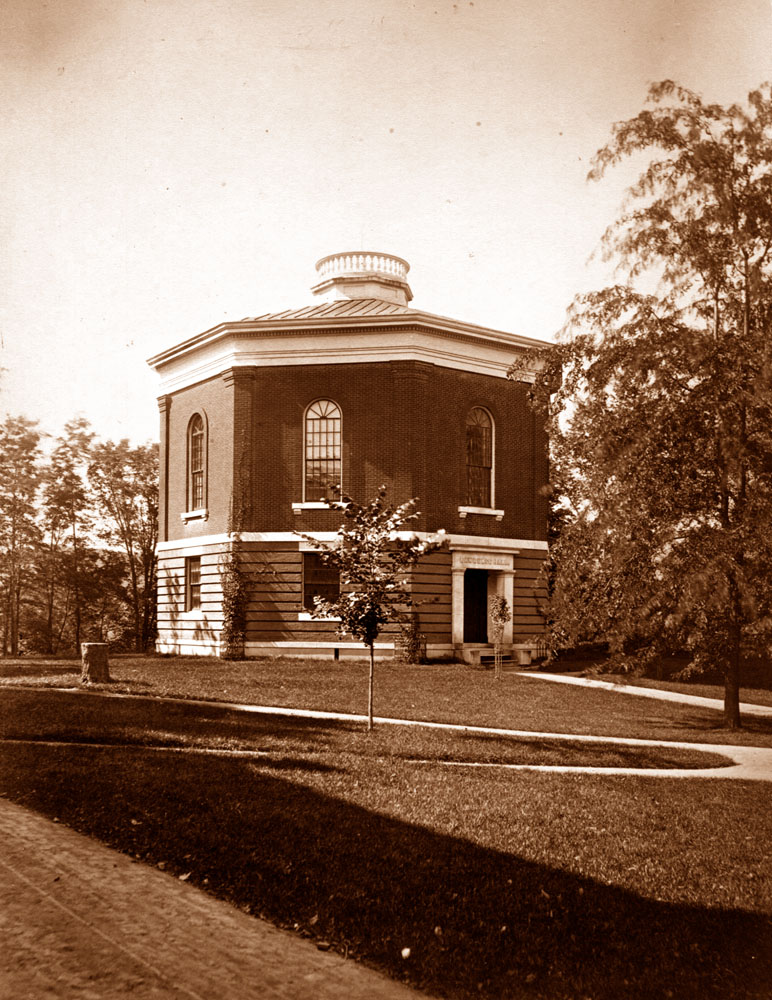 Lawrence Hall exterior (ca. 1895)