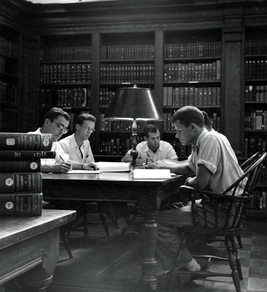 Stetson reading room (ca. 1965)