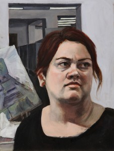 Helen; 2014;  oil on canvas;  20 x 16 in.