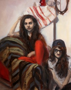 Elisa and Liv;