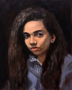 Elisa; 2014; oil on canvas; 20X16 in.