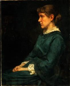 """Eleanor Gertrude Du Puy"" by Cecilia Beaux"
