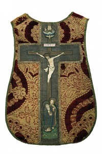 Chasuble with Orphrey Cross