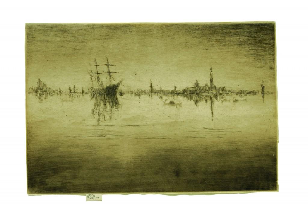"""""""Nocturne"""" by James Abbott McNeill Whistler"""