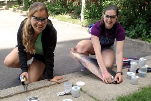 Luce Scholars Laura Stamp '16 & Mary Ignatiadis '16