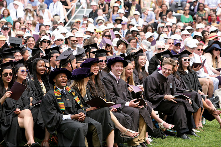The college's 225th Commencement on June 8 was a festive send-off for the Class of 2014.