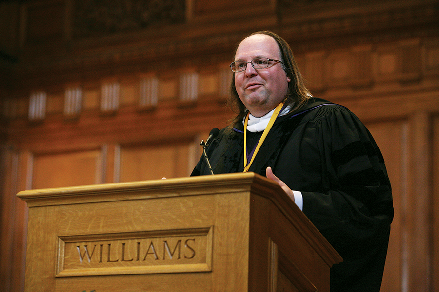 Ethan Zuckerman '93, director of the Center for Civic Media at MIT