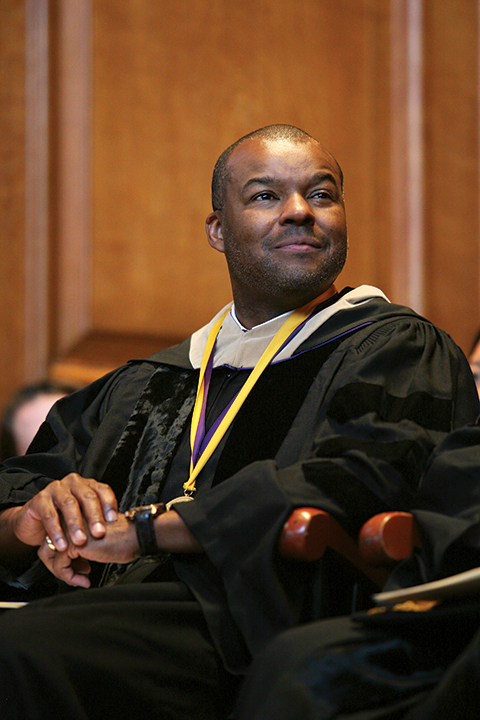 Kenard Gibbs '86, CEO of Soul Train Holdings and co-founder of MadVision Entertainment