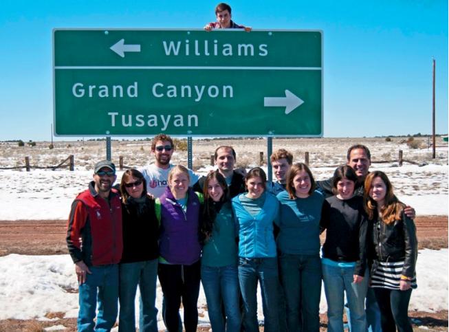 Spring Break Service in Grand Canyon