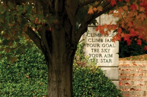 Hopkins Gate Motto