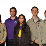 Athlete-Driven Initiative Against Sexual Assault (from left): Zander Masucci '16, Andree Heller '15, John Maimone-Medwick '15, Dianna Mejia '15 & Dan Whittam '15 (co-presidents), Steven Keisel '15, Becca Bell '15