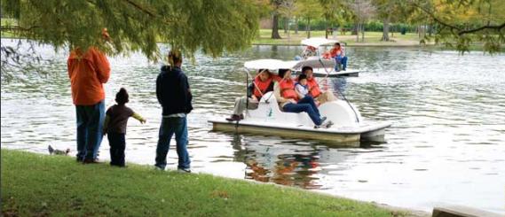hermann park pond