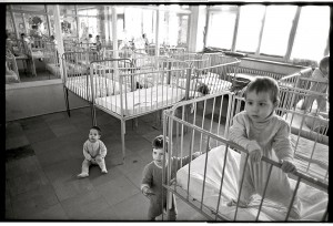 In 1998, orphanages throughout Romania were overflowing with 100,000 abandoned children—4,200 in Bucharest alone.