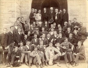 The Williams Class of 1889, with Bolin at far right