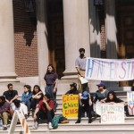 A 1993 hunger strike for the creation of a Latina/o studies program found in the Williams College Archives' student activism collections.