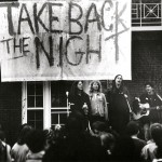 1980s-era Take Back the Night event to end sexual violence found in the Williams College Archives' student activism collections.