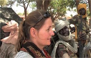 Karin Muller in Sudan