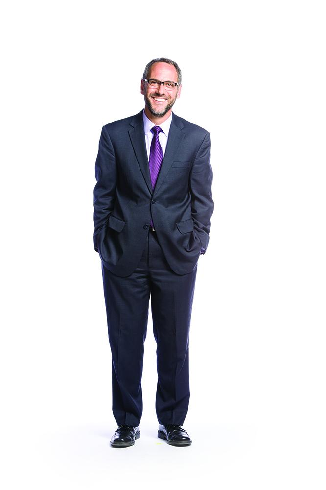Portrait of Williams President Adam Falk