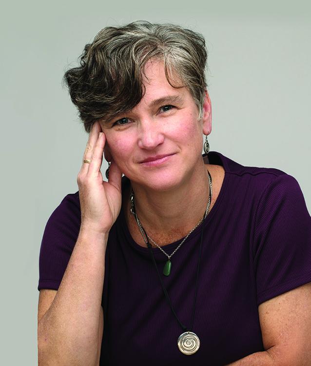 Portrait of Cindy Frantz , Class of 1991, Oberlin social psychologist