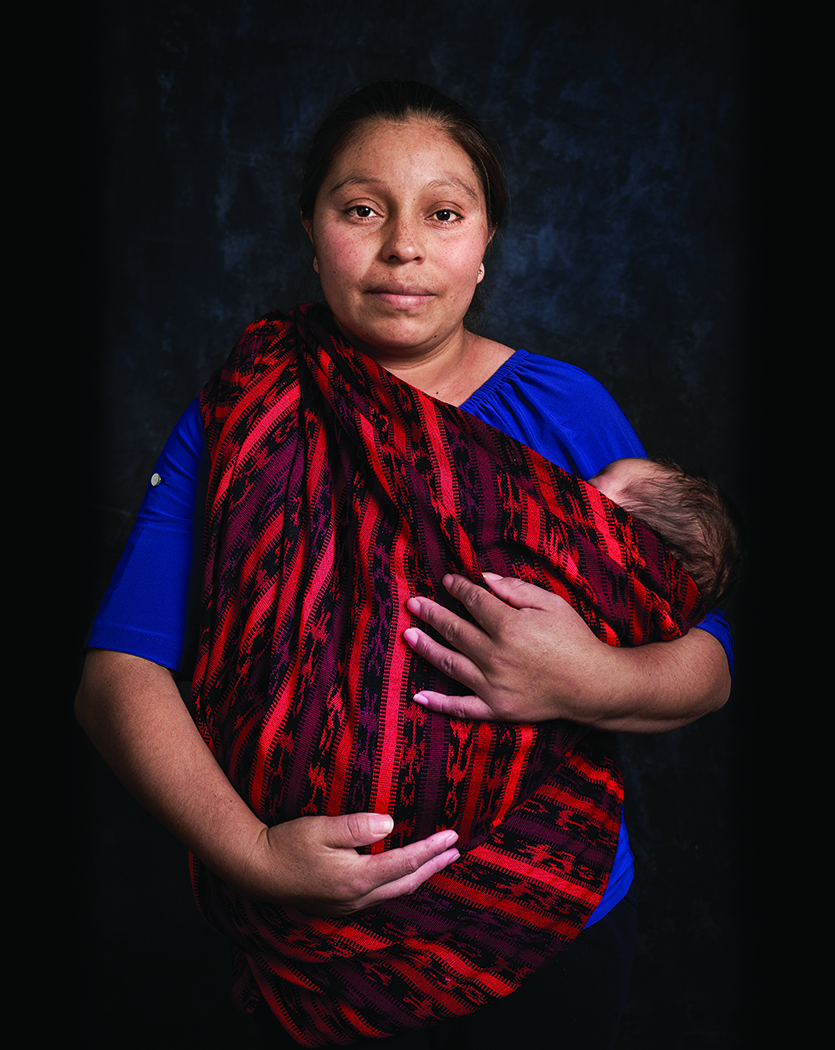 Photo of Paulina Lopes. Part of Joe Standart's collection of photos of immigrants and refugees.