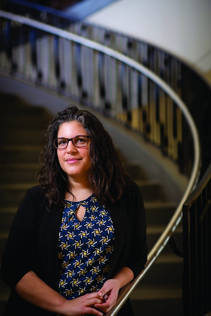 Portrait of April Ruiz, Associate Dean