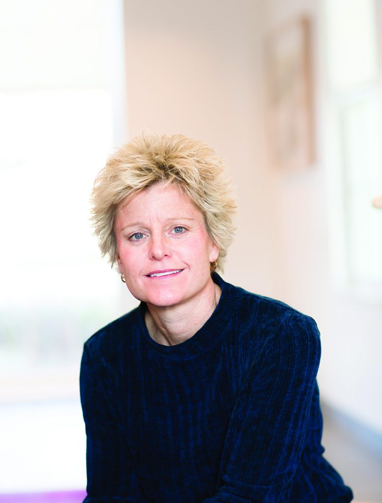 Portrait of Wendy Adam, Director of Integrative Wellbeing Services