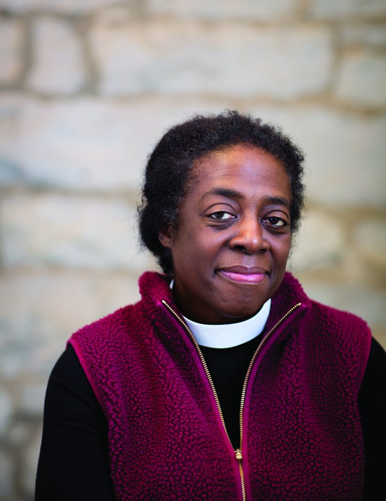 The Rev. Valerie Bailey Fischer, Chaplain to the College