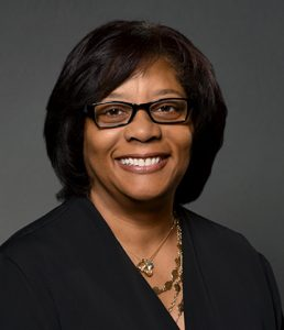 Head shot of new alumni trustee Michele Y. Johnson Rogers '79