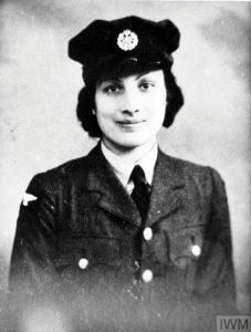 Portrait of Noor in a uniform