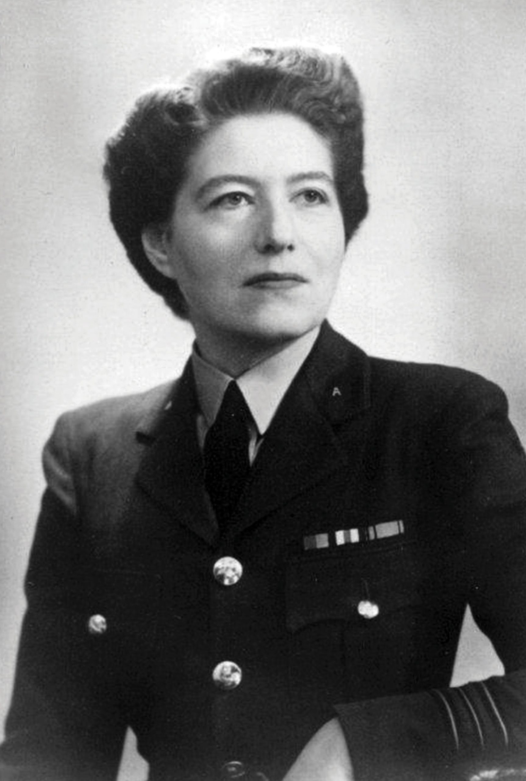 Vera May Atkins, a British intelligence officer who worked in the French Section of the SOE from 1940 to 1945. Photograph courtesy of GL Archive/Alamy Stock Photo.